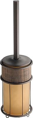 InterDesign® Twillo Metal Toilet Bowl Brush, Bronze