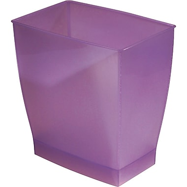InterDesign® Spa Mono 11 ltr Rectangular Wastecan, Chianti