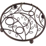 "InterDesign 7 3/4""Dia Twigz Trivet, Bronze"