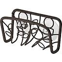 InterDesign® Twigz Steel Suction Sink Cradle, Bronze