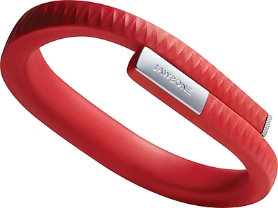 Jawbone UP Red Fitness Tracker, Large
