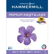 Hammermill® – Papier laser et jet d'encre de qualité supérieure certifié FSC, 24 lb, brillance 97, 8,5 po x 11 po, rame