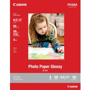 "Canon® Photo Paper, 8-1/2"" x 11"", Glossy"
