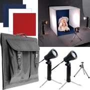 Electric Avenue Deluxe Table Top Photo Studio Photo Light Box