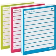 Poppin Task Pads, Assorted, Set of 3 (100051)