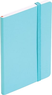 Poppin Small Soft Cover Notebook, Aqua (100024)