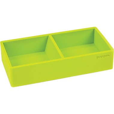 Poppin Softie This + That Tray, Lime Green, (100411)