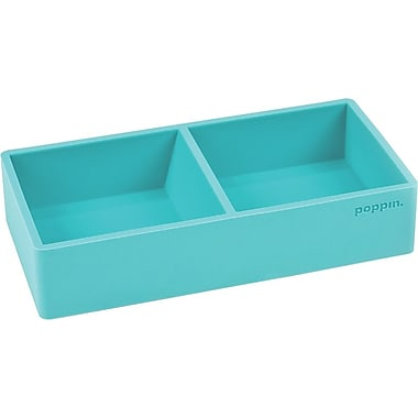 Poppin Softie This + That Tray, Aqua