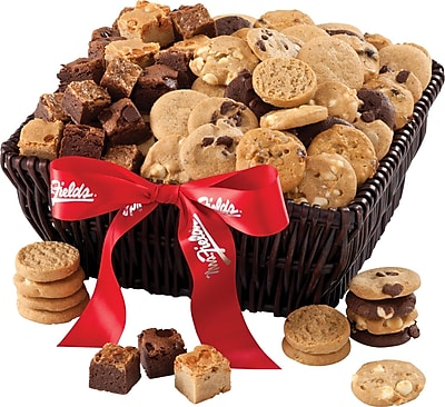 Mrs. Fields® 72 Nibblers® and 36 Brownie Bites Basket