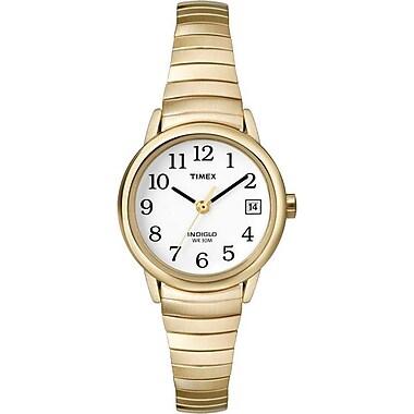Timex – Montre Classique pour femme avec bracelet extensible doré