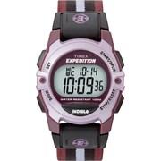 Timex – Montre Expedition de dimension moyenne, avec boîtier rose et bracelet en nylon