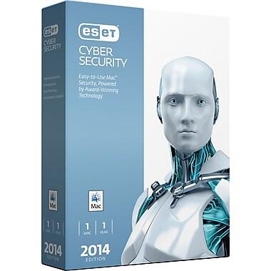 ESET® - Cyber Security 2014, Protection anti-virus pour Mac, bilingue, 1 Mac