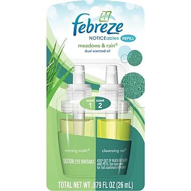 Febreze PLUG Air Freshener Refill Meadows & Rain (1 Count, 0.87 oz)