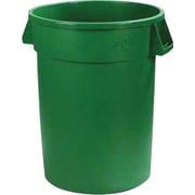 Carlisle Bronco 20 gal. Polyethylene Trash Can without Lid, 6/Pack