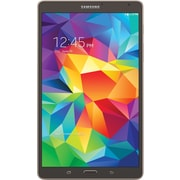 "Samsung Galaxy Tab S Tablet, 8.4"", 16GB, Titanium Bronze"