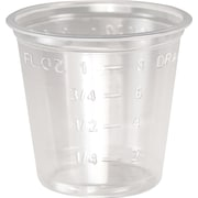 SOLO® T101 Graduated Medicine Cup, 1 oz., Clear