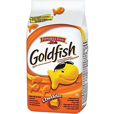 Pepperidge Farm® – Craquelins Goldfish Cheddar, 45 g, paq./12
