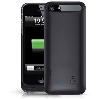 Urge Basics 2400mAh Battery Case for iPhone 5/5S, Black