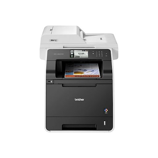 Brother Mfc L8850cdw Color Laser All In One Printer Staples