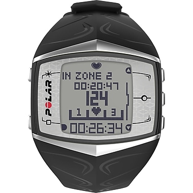 Polar FT60 Fitness Watch, Black