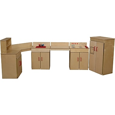 Wood Designs™ Dramatic Play 4 Set Plywood Classic Appliances W/2 Counters