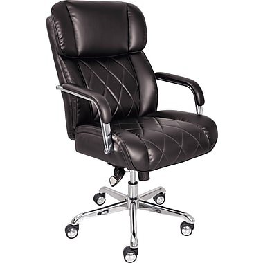 La Z Boy Ellison Managers High Back Center Pivot Leather Bonded Chair