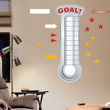 Dry Erase Thermometer Wall Decal By Fathead