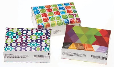 Facial Tissue Pocket Packs, 100/Case