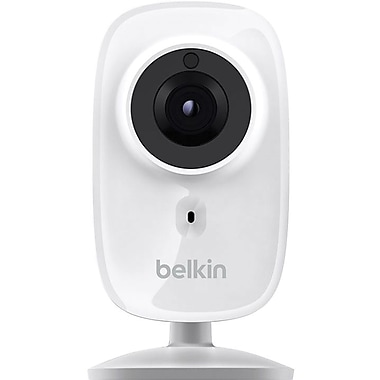 Belkin NetCam Wi-Fi HD+ Camera with Night Vision, Works with Belkin WeMo