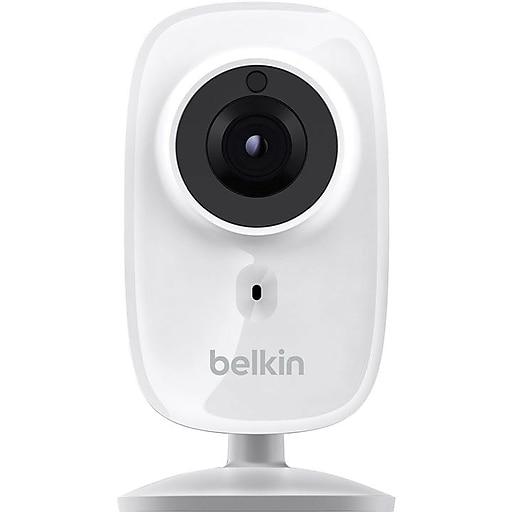 Belkin NetCam HD WiFi Camera with Night Vision, White