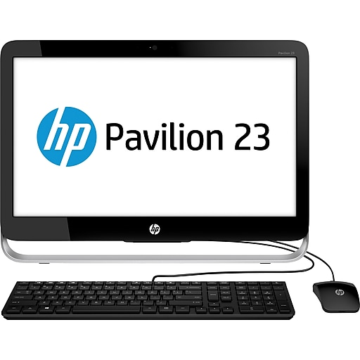 hp pavilion 23 inch all in one desktop computer 23 g116 staples