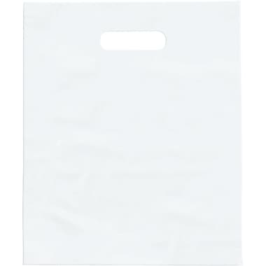 Sacs à marchandise givrés haute densité, 9 x 12 po, transparent, 500/paq