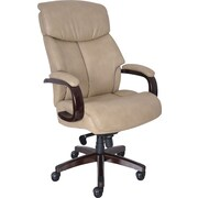 La-Z-Boy Big & Tall Elbridge Executive High-Back Center Pivot Chair, Ivory