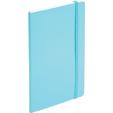 Poppin Medium Soft Cover Notebook, Aqua (100012)