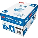 8-Reams Staples Multipurpose Copy Fax Inkjet & Laser Printer Paper