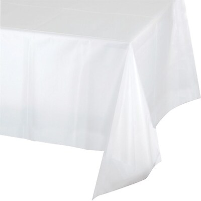 Creative Converting Clear Rectangular Tablecover