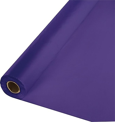Creative Converting Purple Banquet Roll