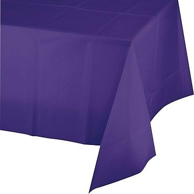 Creative Converting Purple Rectangular Tablecover