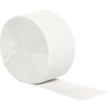 Creative Converting White Crepe Streamers