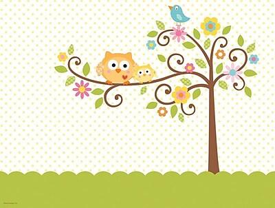 Creative Converting Happi Tree Rectangular Tablecover