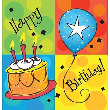 Creative Converting Cake Celebration Rectangular Tablecover