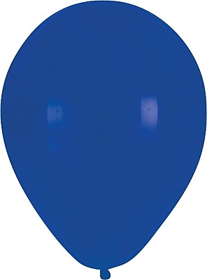 Creative Converting True Blue Latex Balloons, 15/Pack