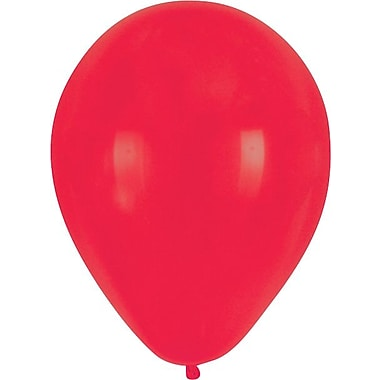 Creative Converting Classic Red Latex Balloons, 15/Pack