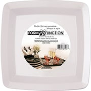 "Creative Converting 7"" Square Luncheon Plates, 12/Pack"