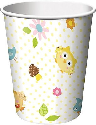 Creative Converting Happi Tree 9 oz. Hot/Cold Drink Cups, 8/Pack 1005819