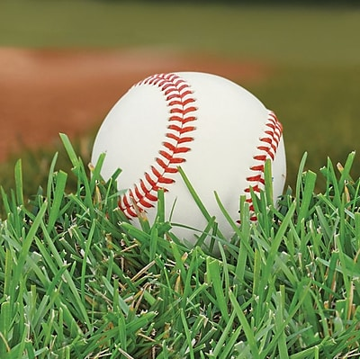 Creative Converting Baseball 2-Ply Beverage Napkins, 18/Pack