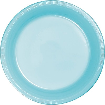 Creative Converting Pastel Blue Round Banquet Plates, 10