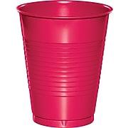 Creative Converting Hot Magenta Pink Plastic Cups, 60 Count (DTC28177081TUMB)
