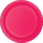 "Creative Converting Hot Magenta 9"" Round Dinner Plates, 24/Pack"