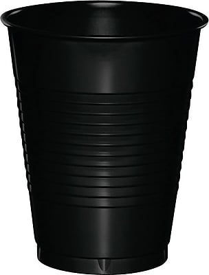 Creative Converting Black Velvet Cups, 20/Pack